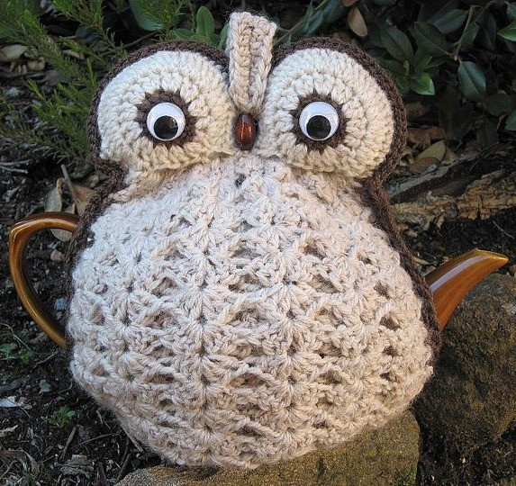 Crochet Owl Tea Cozy - Made To Order In Your Choice Of ...