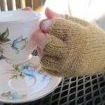 Fingerless Gloves - with fi..