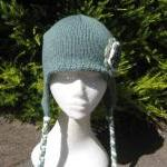 Aviator Hat Ear Flap Hat wi..