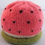 Watermelon Baby Hat - newbo..